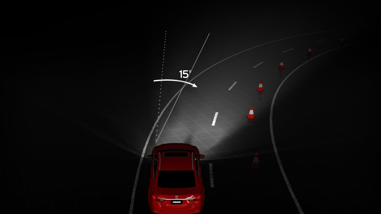 Mazda i-ACTIVSENSE - Adaptive Front Lighting System (AFS)