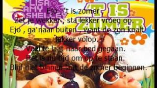 lisa amy shelley t is zomer met tekst