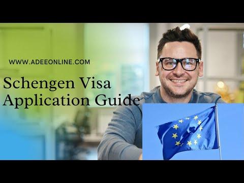 How to Apply Schengen Visa Europe Visa Application