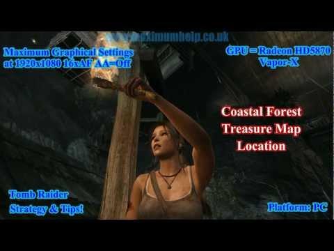 Coastal Forest Treasure Map Location Tomb Raider Maximum ...