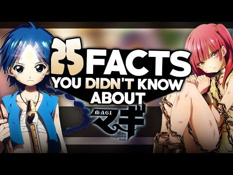 25 Facts About MAGI You Probably Didn't Know! マギ