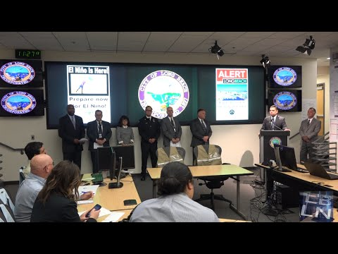 City Annouces Alert Long Beach at Press Conference