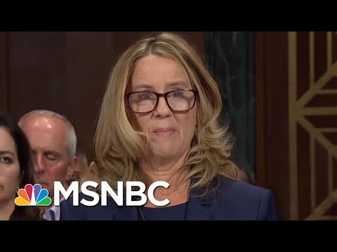 Ford Candidly Describes Alleged Kavanaugh Assault, Thought She'd 'Accidentally Be Killed'   MSNBC