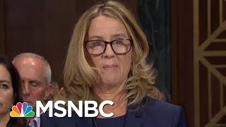 Ford Candidly Describes Alleged Kavanaugh Assault, Thought She'd 'Accidentally Be Killed' | MSNBC