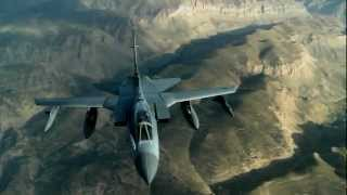 KC-135 Refuels RAF Tornado over Afghanistan in Operation Enduring Freedom