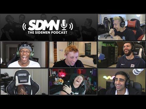 KSI VS LOGAN PAUL PRESS CONFERENCE & THE SIDEMEN SHOW (Sidemen Podcast)