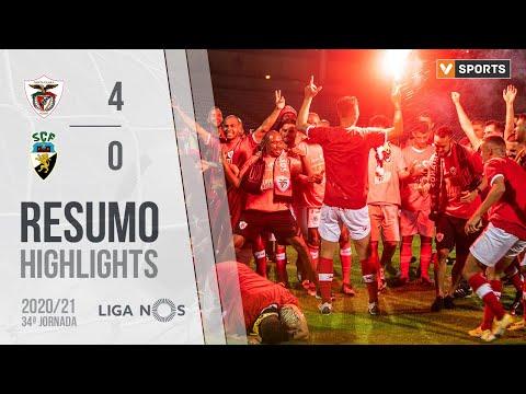 Highlights | Resumo: Santa Clara 4-0 SC Farense (Liga 20/21 #34)