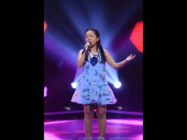 中國好聲音 第四季 - 第五期 2015-08-14 蒲悅 - 如果有來生 無雜音版