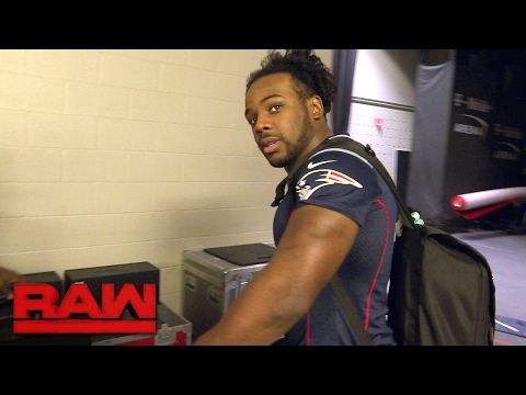 Xavier Woods pays up after losing a Super Bowl bet: Raw Exclusive, Feb. 13, 2017