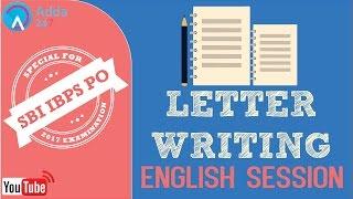 SBI PO 2017   Letter Writing   English   Online Coaching for SBI IBPS Bank PO