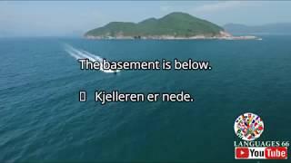 Learning English to NorskNorwegian Lærer norsk til engelsk#02