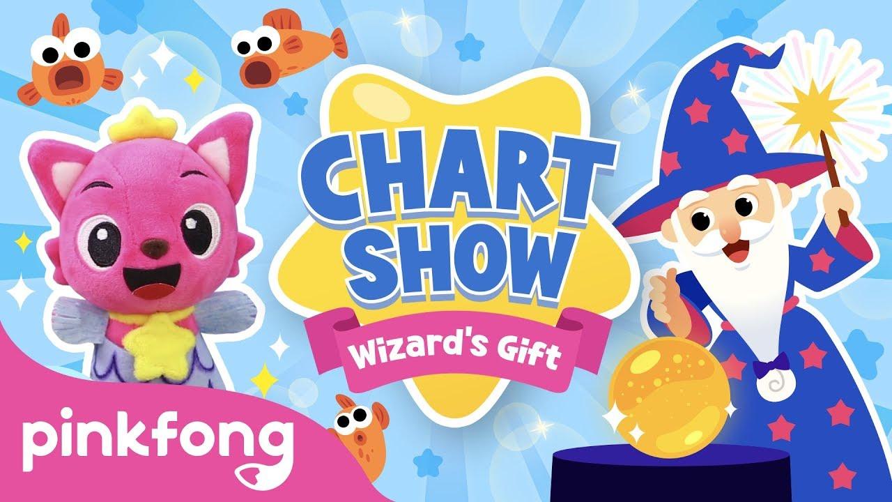Pinkfong Chart Show: The Wizards Gift | Pinkfong Baby Shark Chart Show | Pinkfong Show for Children