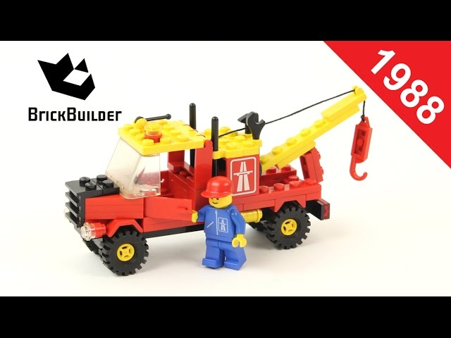 Lego – Back To History – 6674 Crane Truck – 1988 – BrickBuilder