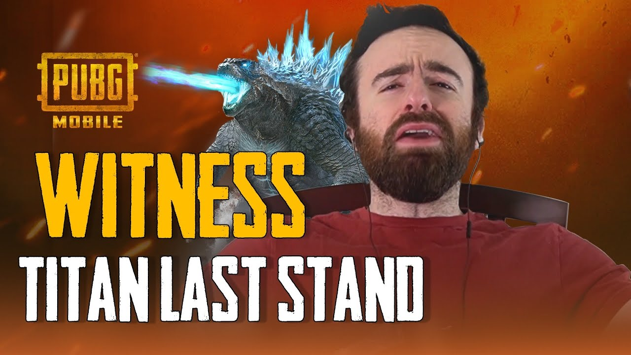 PUBG MOBILE | Watch our VIPs' Reactions to the Titans: Last Stand Footage!