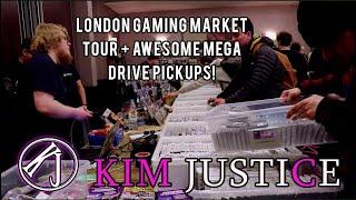 Trip to London Gaming Market + Awesome Sega Mega Drive Game Pickups! - Kim Justice