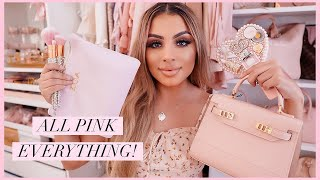 HUGE Pink Girly Collective Haul | New Bag, Makeup, and Luxury!