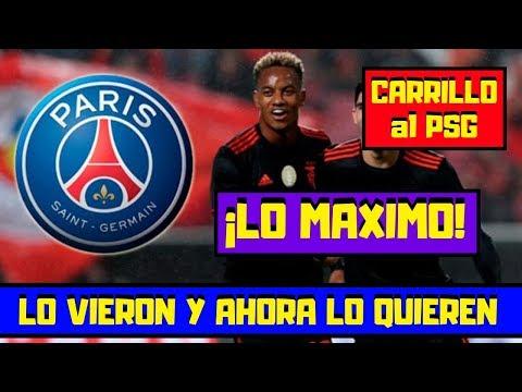 André Carrillo ¡IMPRESIONANTE! 🔴 Representantes del ¡PSG! Estuvieron en el ¡Perú VS Chile!