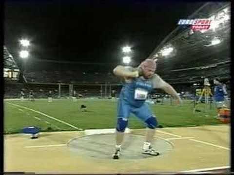 Arsi Harju Olympic Throw - YouTube