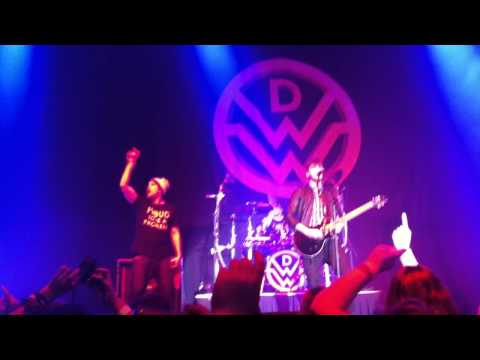 Down With Webster - One In A Million (New Song) Live General Motors Centre Oct 17