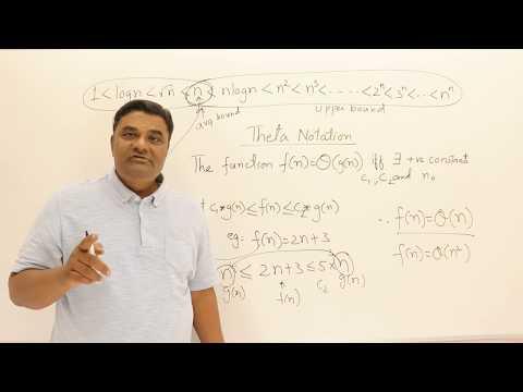 1.8.1 Asymptotic Notations Big Oh - Omega - Theta #1