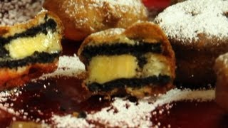 Deep Fried Oreos STUFFED WITH BANANAS RECIPE