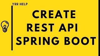 Spring Boot Restful Web Service Tutorial