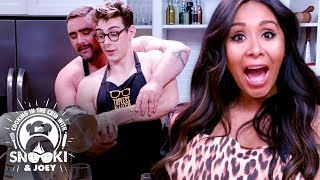 Bare Chested Baking! (Would You Eat This?) ft. Topless Baker | Cooking in the Crib w/ Snooki & Joey
