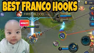 EPIC FRANCO HOOKS MONTAGE EP. 117   WOLF XOTIC   MOBILE LEGENDS