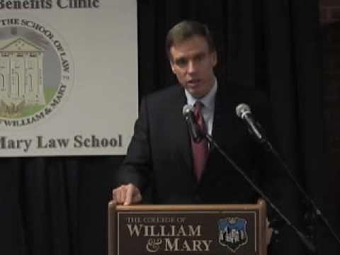 Senator Mark Warner (D-Va.): Puller Veterans Benefits Clinic