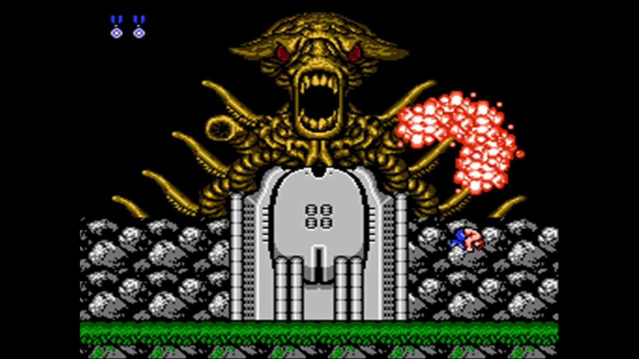 Image result for contra nes youtube