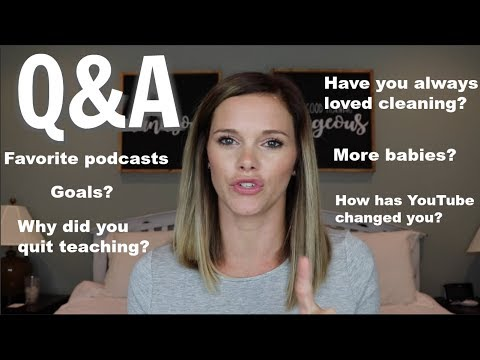 PERSONAL Q&A // GET TO KNOW ME // MORE BABIES YOUTUBE FITNESS EATING