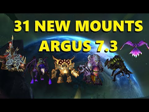 31 NEW MOUNTS IN ARGUS 7.3 & WHAT WE KNOW ABOUT THEM