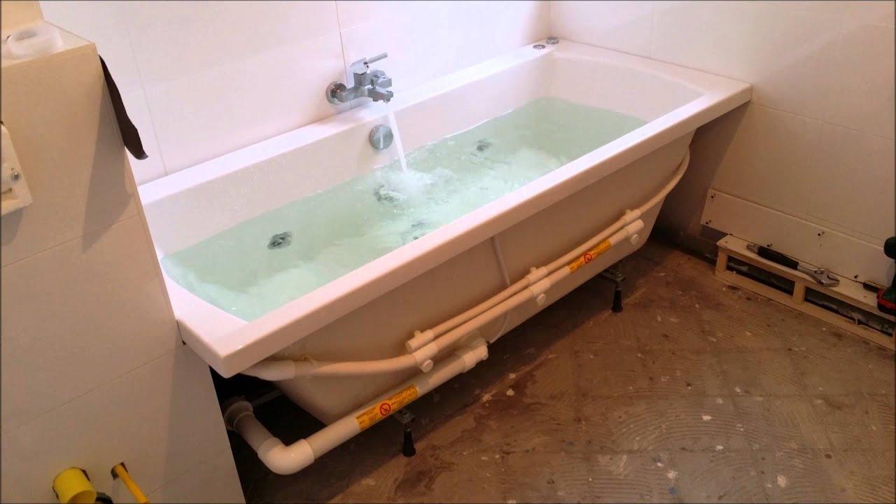 My RIHO YES Whirlpool Julia 180 x 80 - YouTube