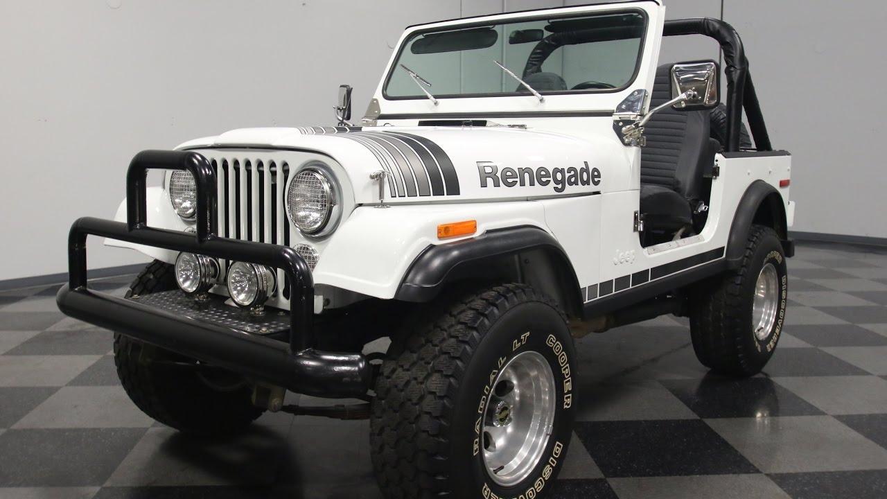 3536 Atl 1978 Jeep Cj7 Renegade