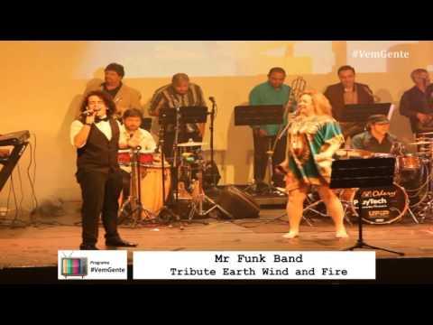 Earth Wind & Fire - Mr Funk Band - Tribute part Rodrigo Teaser TOP10