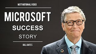 Microsoft Success Story (Ft. Bİll Gates) | Motivational Speech | Bill Gates Interview