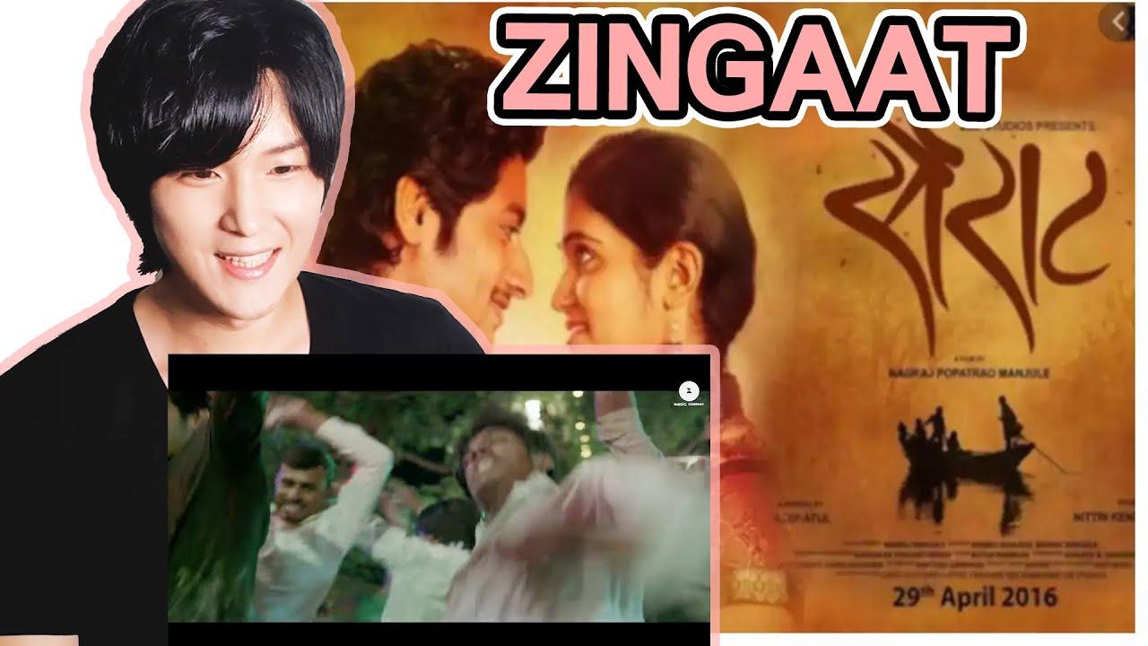 First Time Watching Marathi Song! | Korean Reacts to Zingaat | Sairat | Akash Thosar & Rinku Rajguru