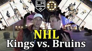 NHL s Majkem Spiritem - Kings vs. Bruins - TOP DEN!