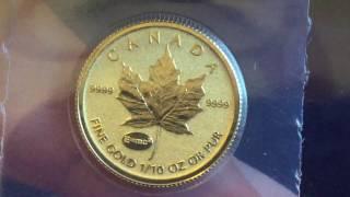 2015 gold maple 1 10 oz e mc2 privy coin
