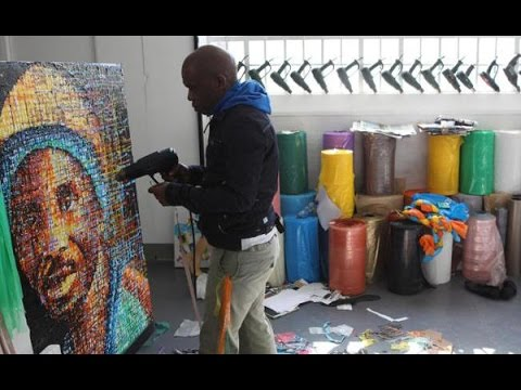 Plastic art: One man's trash, another man's treasure