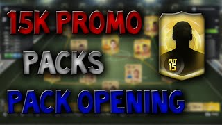 Fifa 15 - Pack Opening - 2x 88 Rated Players! 15k Promo Packs Thumbnail