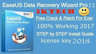 How To Activate EaseUS Data Recovery Wizard 10.8 For LIFETIME ||2018  Bangla