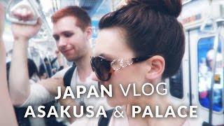 Japan Vlog - Asakusa, Tokyo Imperial Palace, food and skybar ・ 東京