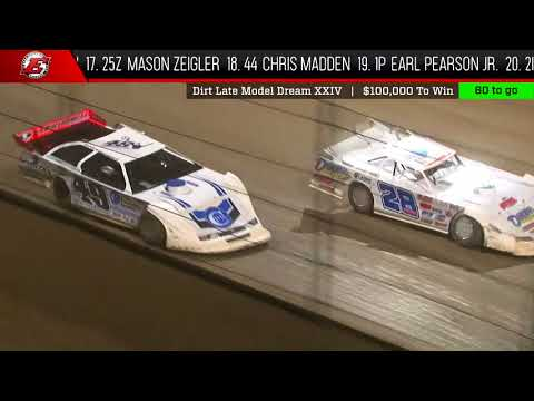 6.9.18  |  Dirt Late Model Dream  |  Feature Highlights