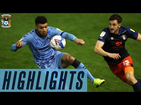 Coventry Luton Goals And Highlights