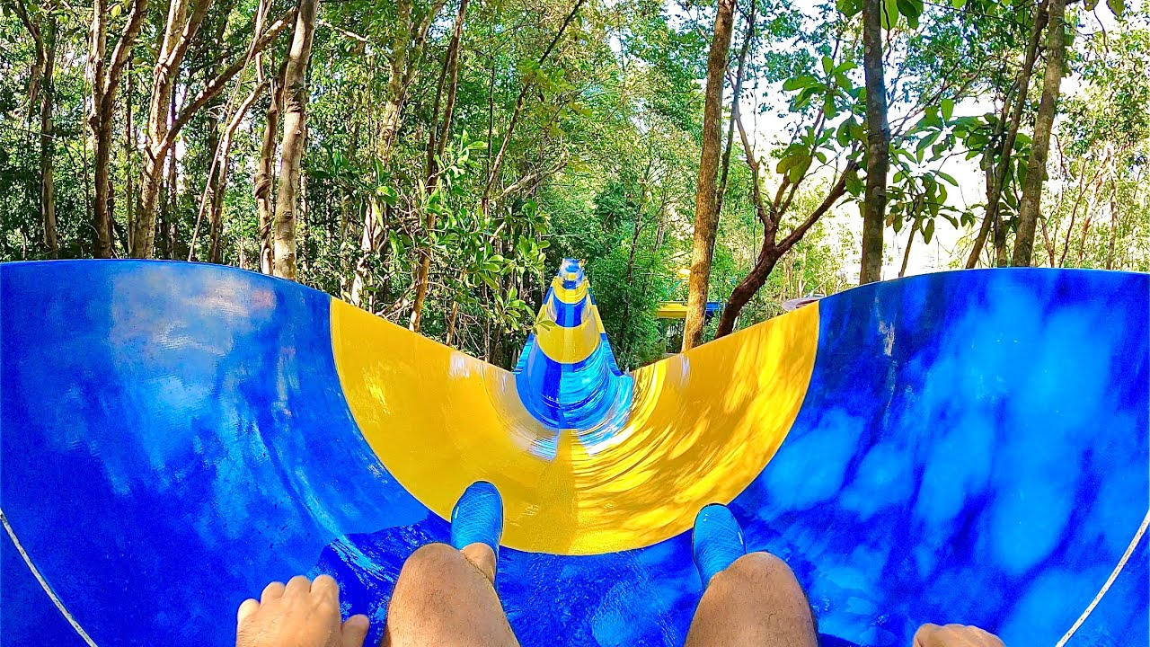 Download World's Longest Waterslide at Escape Theme Park in Malaysia (1.1km)