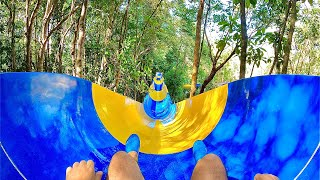 World's Longest Waterslide at Escape Theme Park in Malaysia (1.1km)