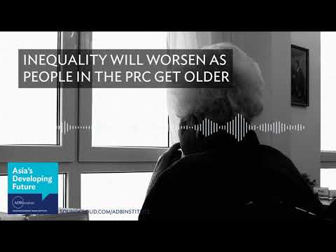 Inequality will worsen as people in the PRC get older