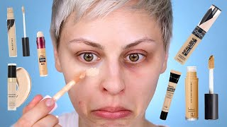 Testing the BEST Drugstore Concealers for Dark Circles