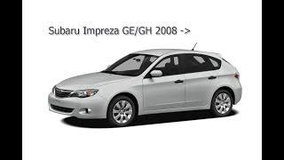Передняя подвеска Subaru Impreza